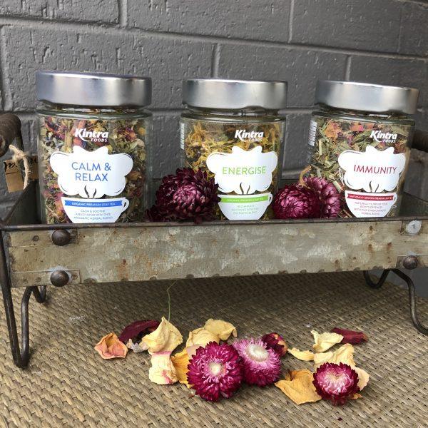 buy calming tea at miss moss florist canberra